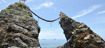 黒浜海岸夫婦岩