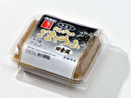 観月秘伝 田舎風ごま豆腐